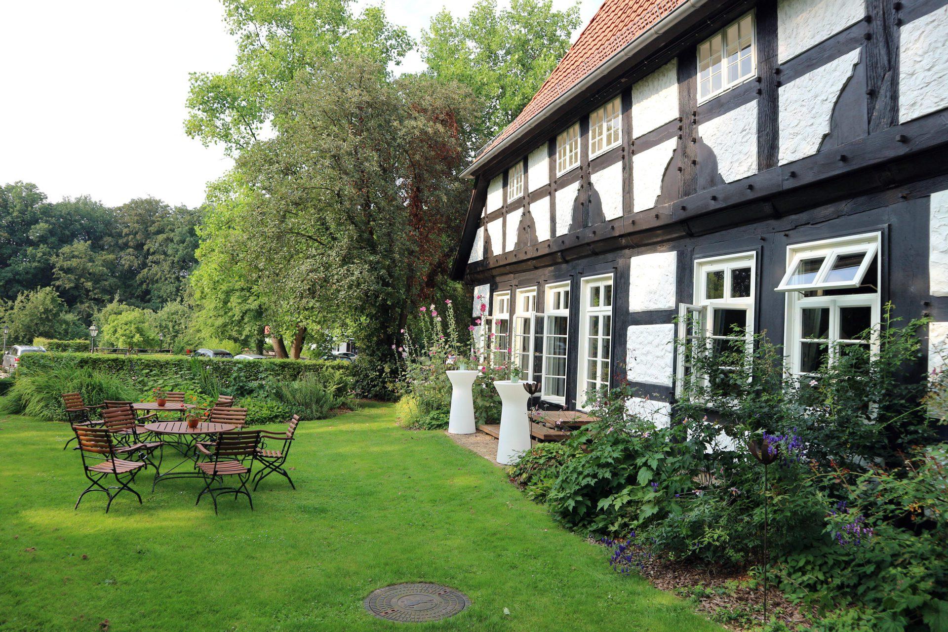 Forsthaus Heiligenberg.  Teil der Küche sind die Degustations-Menüs, bei der die Vielfalt der Speisen noch intensiver erlebt werden kann.