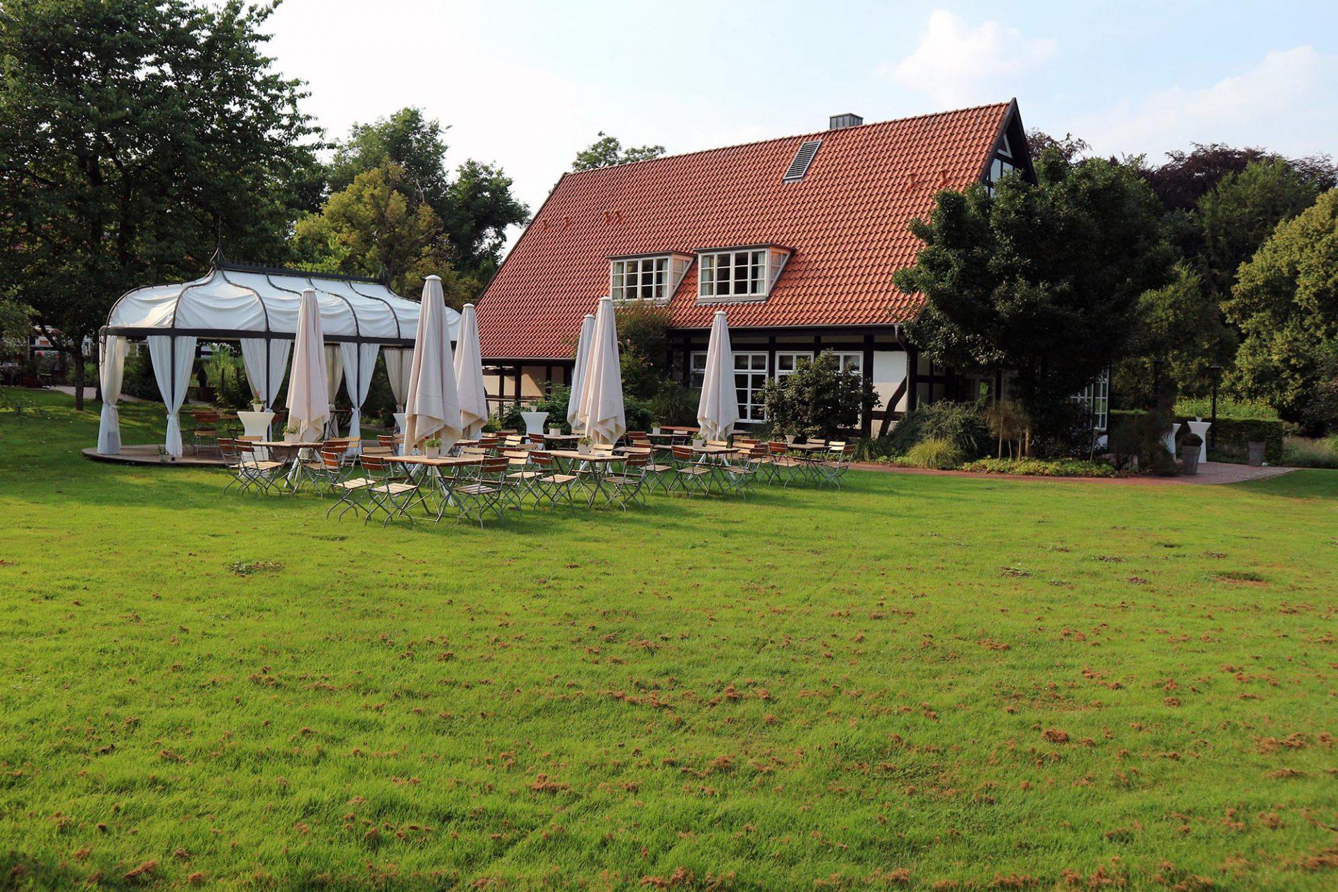 Forsthaus Heiligenberg.  Idylle pur: das Forsthaus liegt im Luftkurort Bruchhausen-Vilsen.