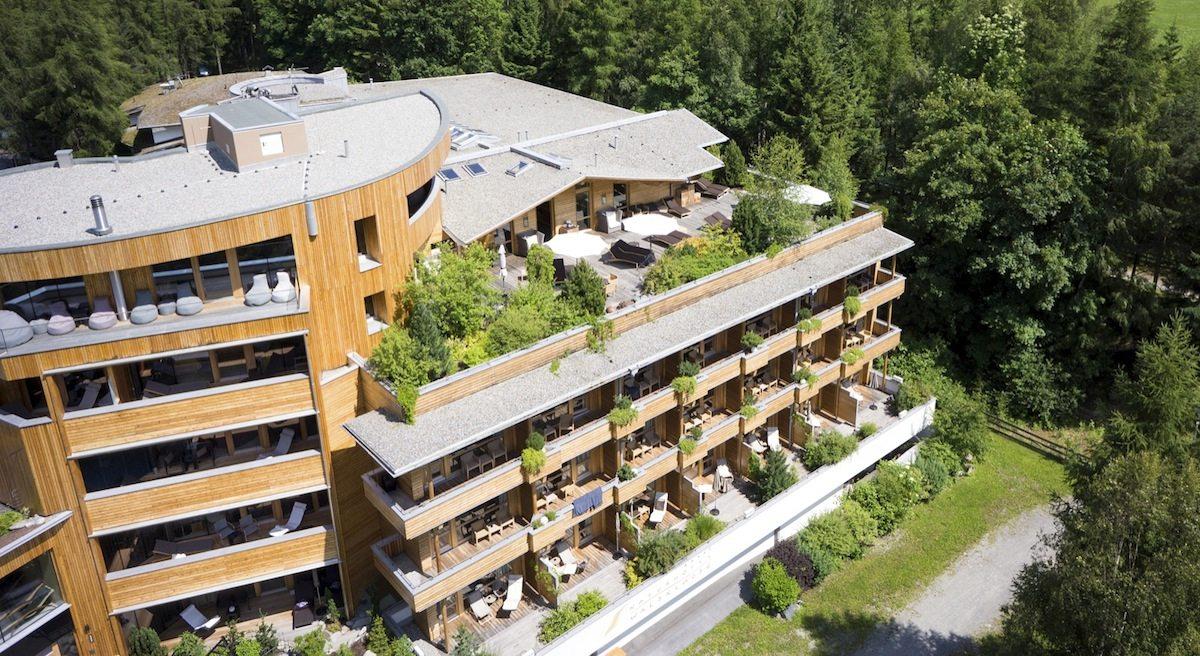 Naturhotel Waldklause.  In Längenfeld auf 1173 Meter Höhe.