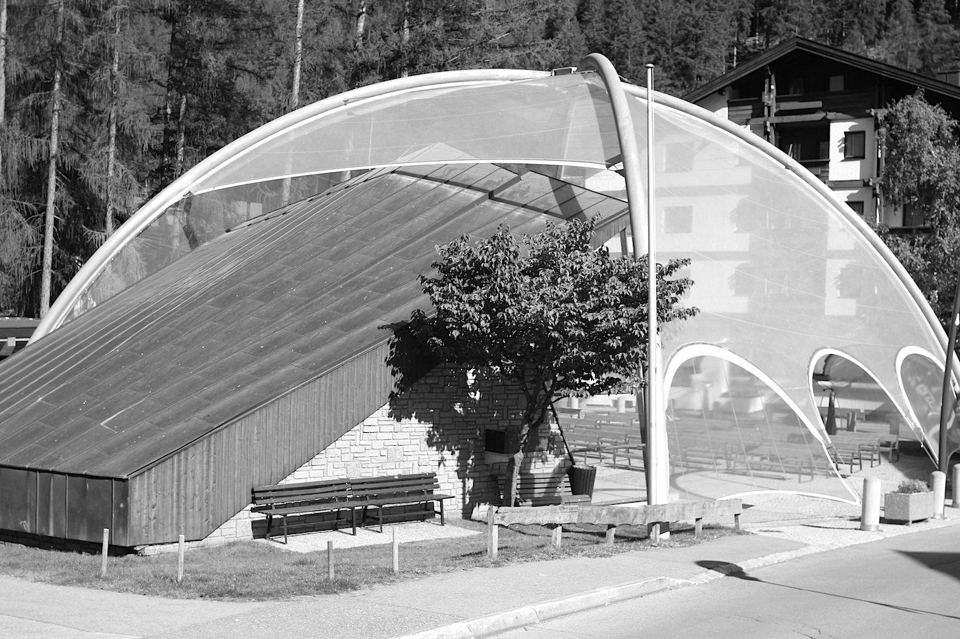 Musikpavillon.