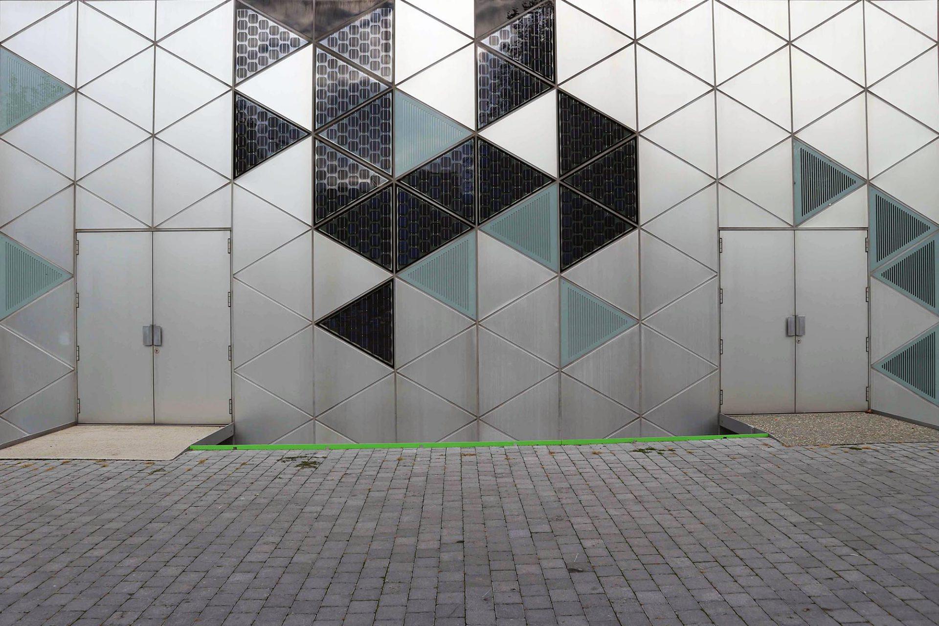 Cité du Design. Eine Hülle aus Glas und Aluminium.