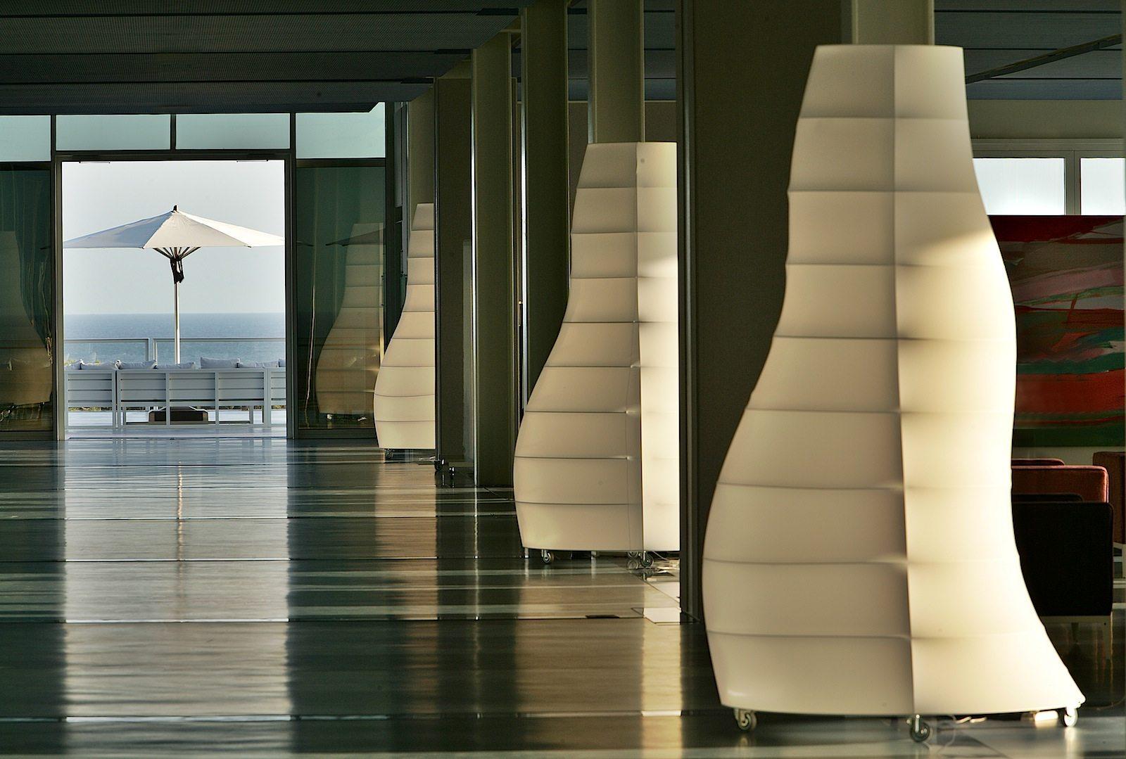 The Oitavos. Linien, Achsen, Perspektiven sind ein Teil des Gestaltungsprinzips.