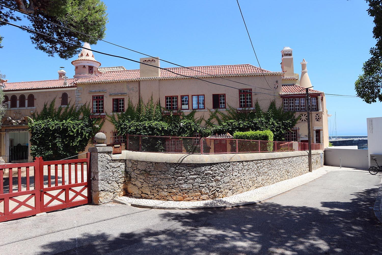 Haus Santa Marta.  1902 fertiggestellt, geplant von Raul Lino, einem der einflussreichsten Architekten Portugals.