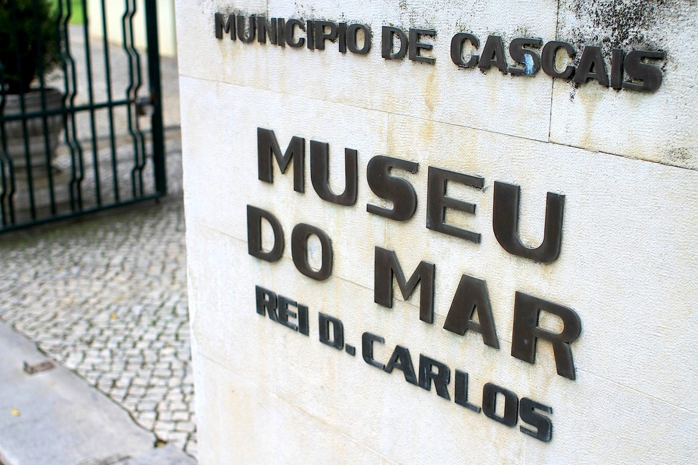 Meeresmuseum.  Das Haus wurde 1992 als Museu do Mar Rei D. Carlos eröffnet.