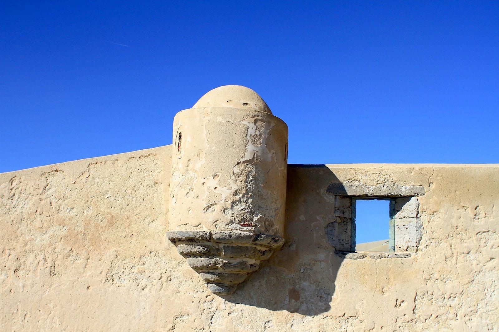 Festung S. Jorge Oitavos. Komplex auf der Klippe:  die Militärfestung diente dem Schutz der Bevölkerung.