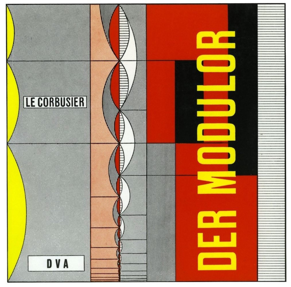 Der Modulor von Le Corbusier. Erschienen bei DVA