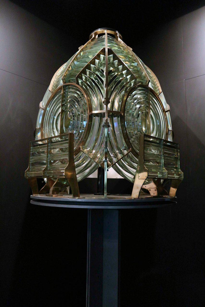 Leuchtturm-Museum Santa Marta.  Der Leuchtturm wurde 1868 in Betrieb genommen.
