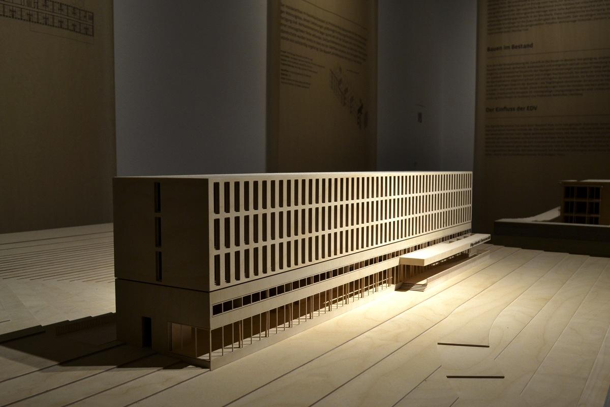 Ausstellung Bauen mit Holz