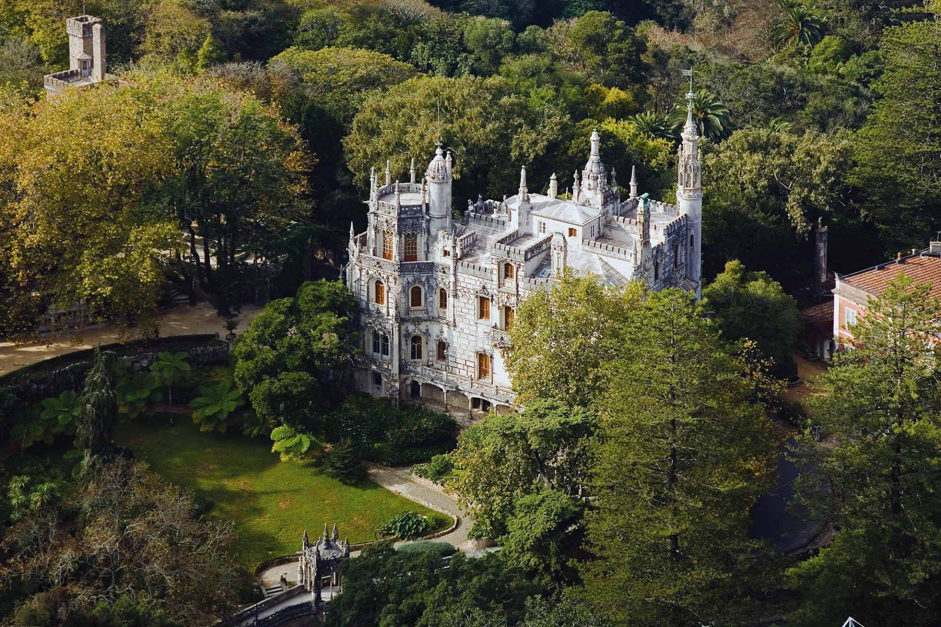 Quinta da Regaleira.  Rätselhaft romantisches Privatschloss.