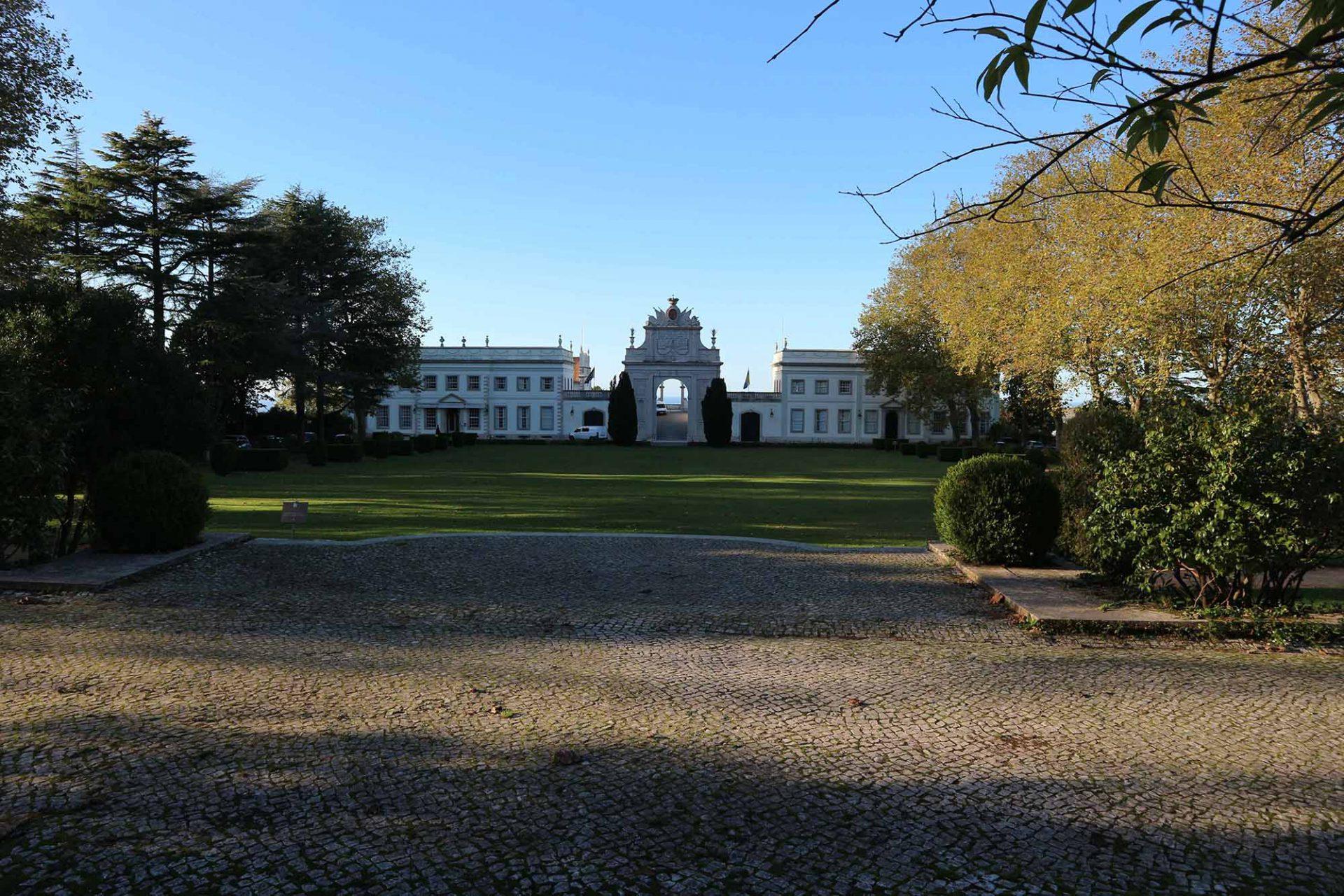 Palácio de Seteais.  Palast der sieben Seufzer