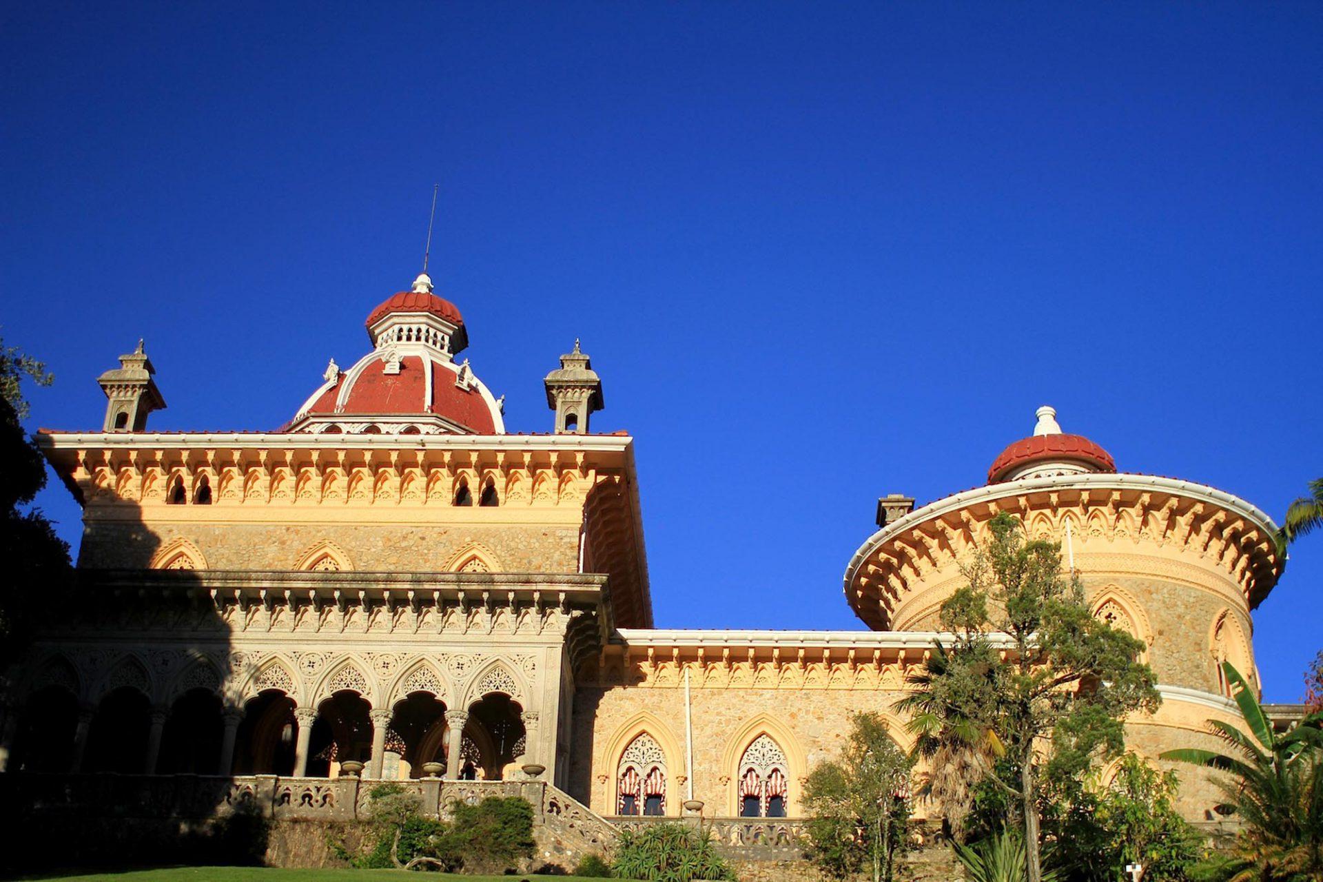 Palácio de Monserrate.  Maurische Anklänge mit ordentlich Gotik drin.