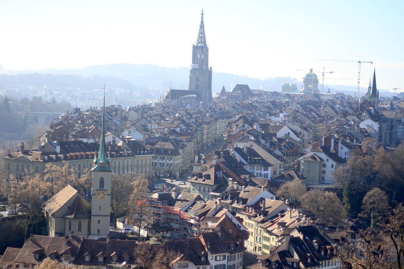 Verdichtet. Berns Altstadt ist seit 1983 Welterbe.