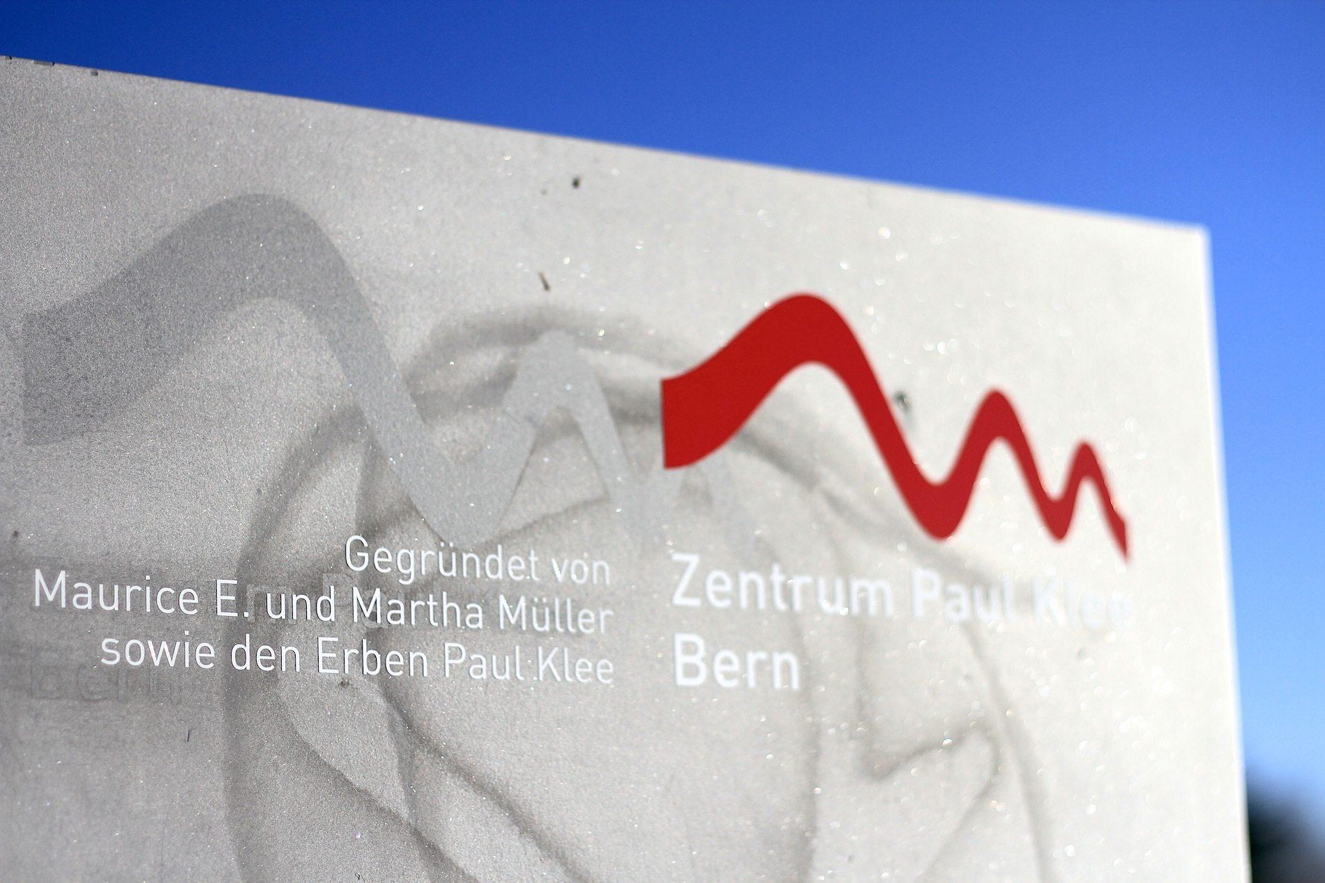 Zentrum Paul Klee. Förderer und Financiers: Maurice E. und Martha Müller mit den Erben von Paul Klee.