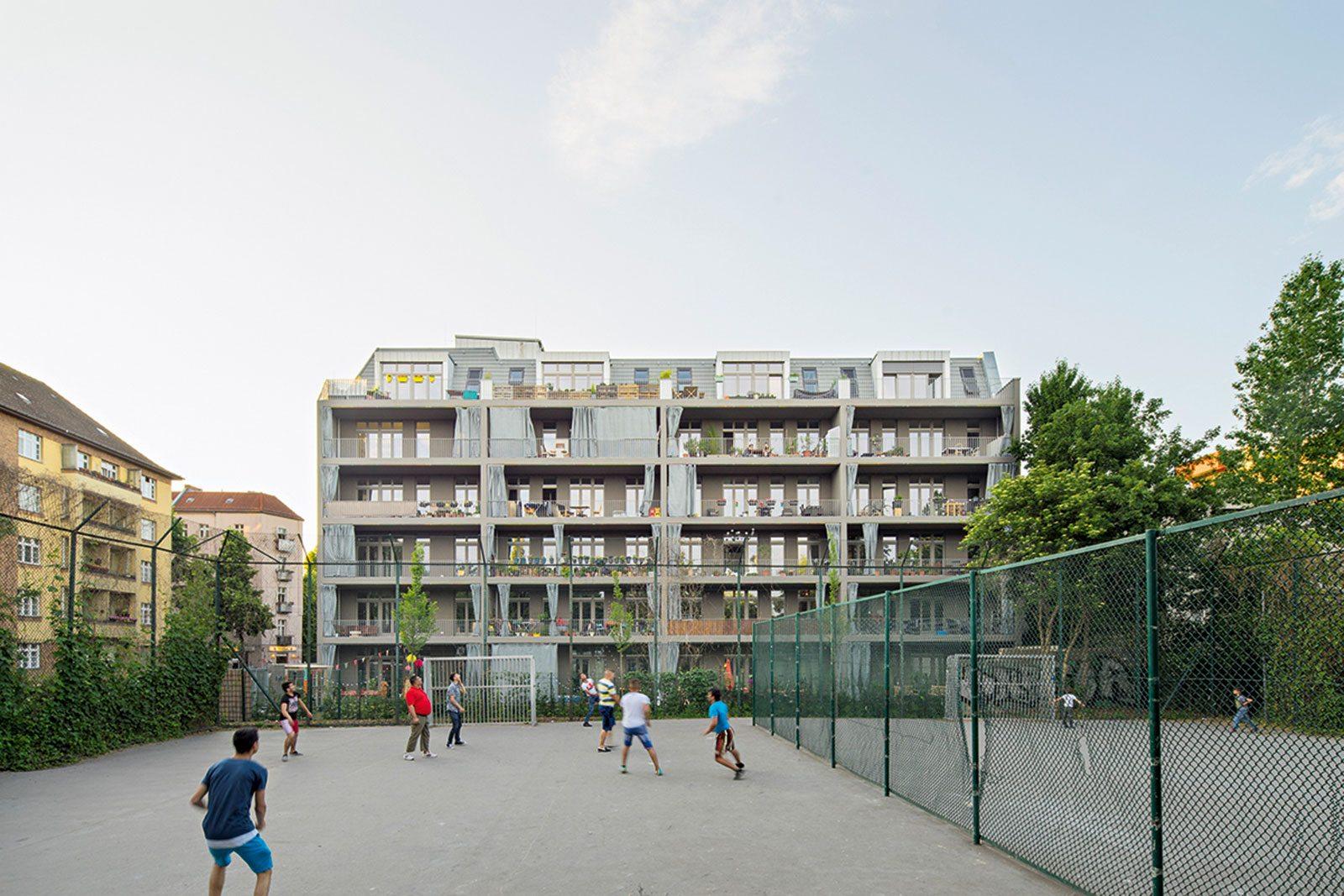 Ausbauhaus Neukölln.  von Praeger Richter Architekten
