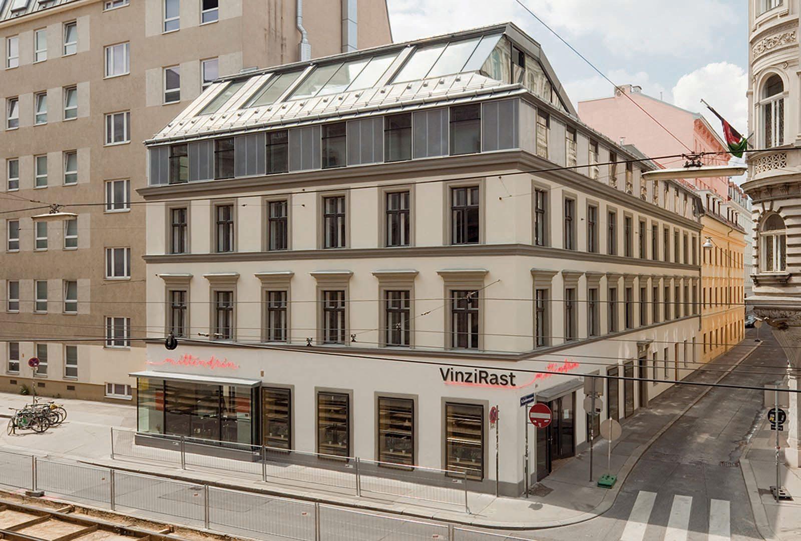 Vinzirast, Wien.  von Gaupenraup Architekten