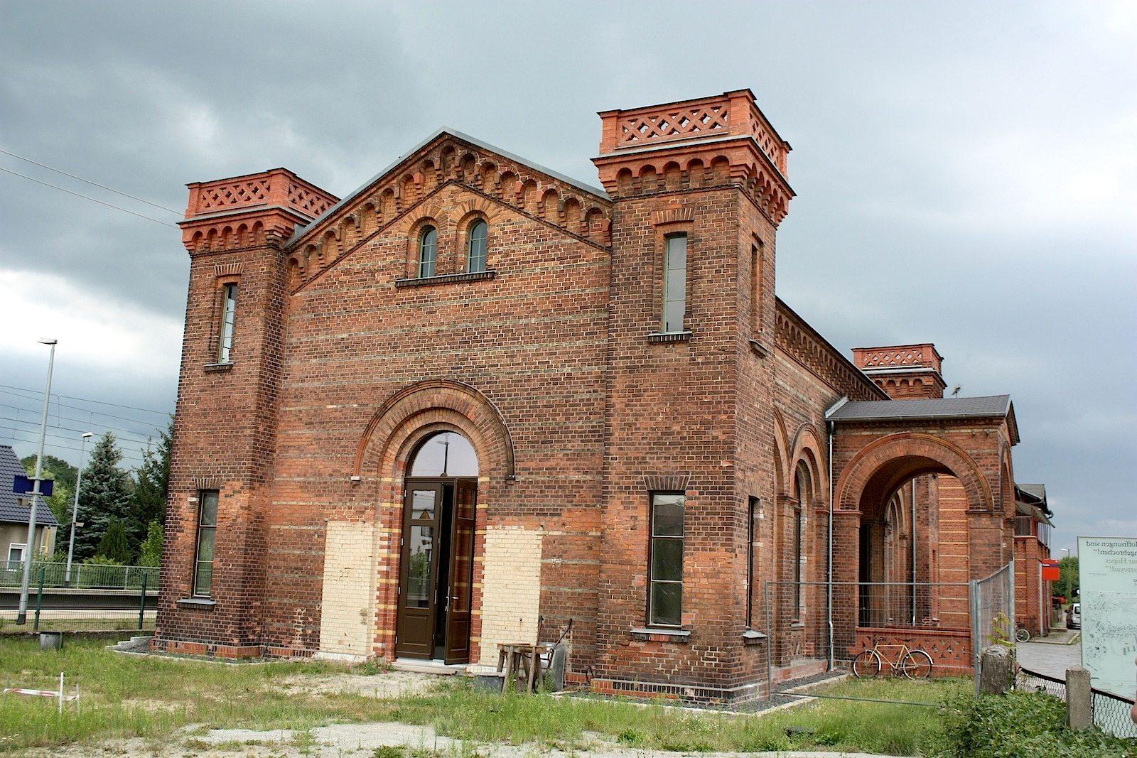 Kaiserbahnhof in Halbe.