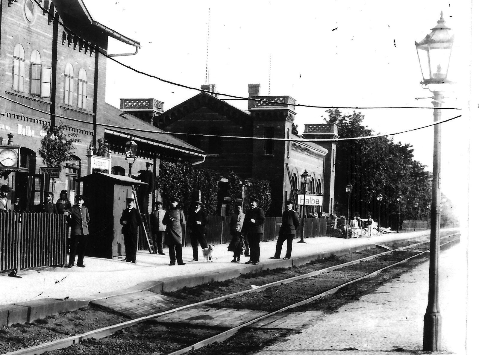 Kaiserbahnhof. Um 1915, Fotoarchiv von Peter Macky