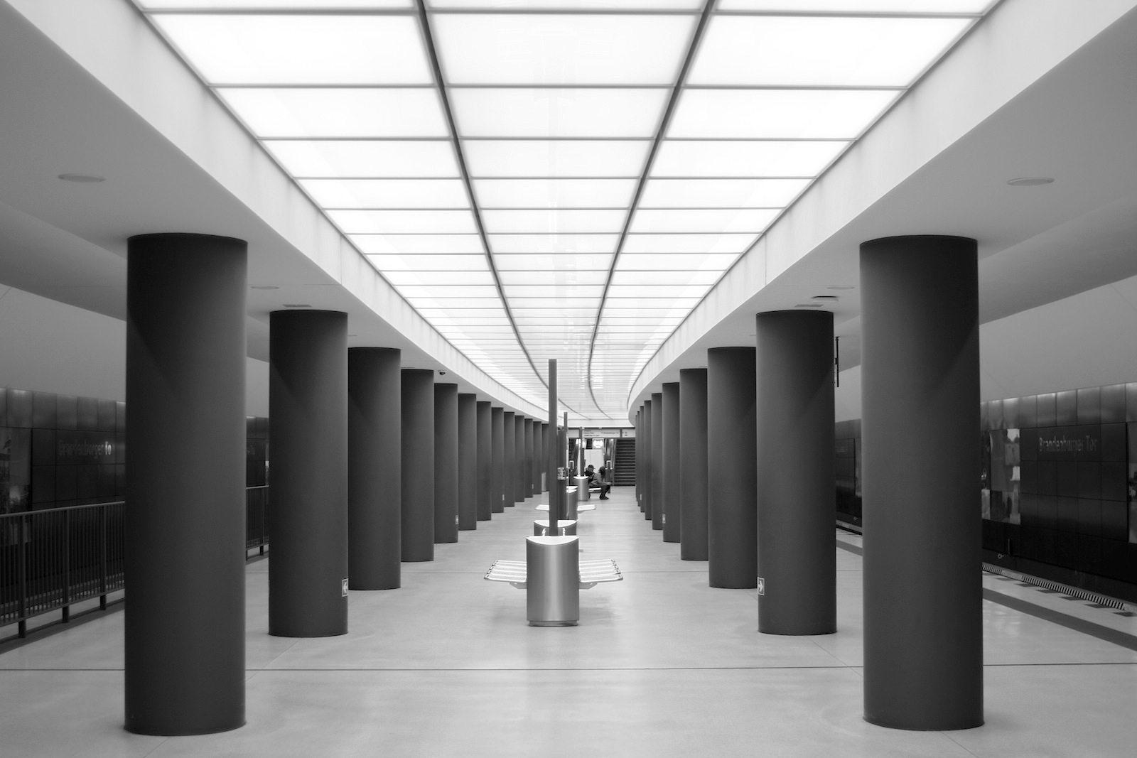 Zoom: U-Bahnhof Brandenburger Tor
