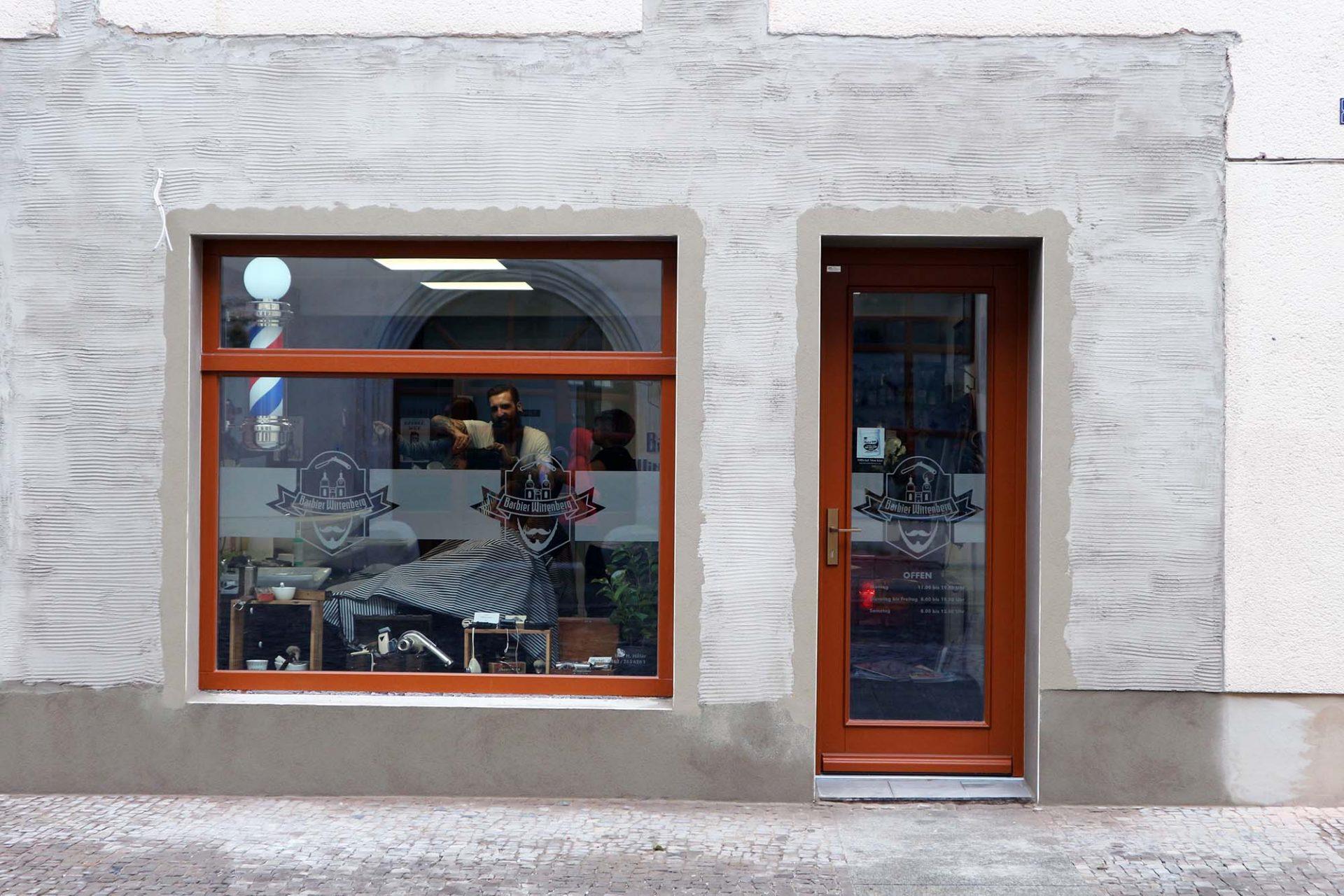Stadtansichten. ... und auch Hippes. Die Wittenberger Altstadt ist eben nicht nur Museum und touristisches Ziel, sondern auch lebenswertes Stadtzentrum.
