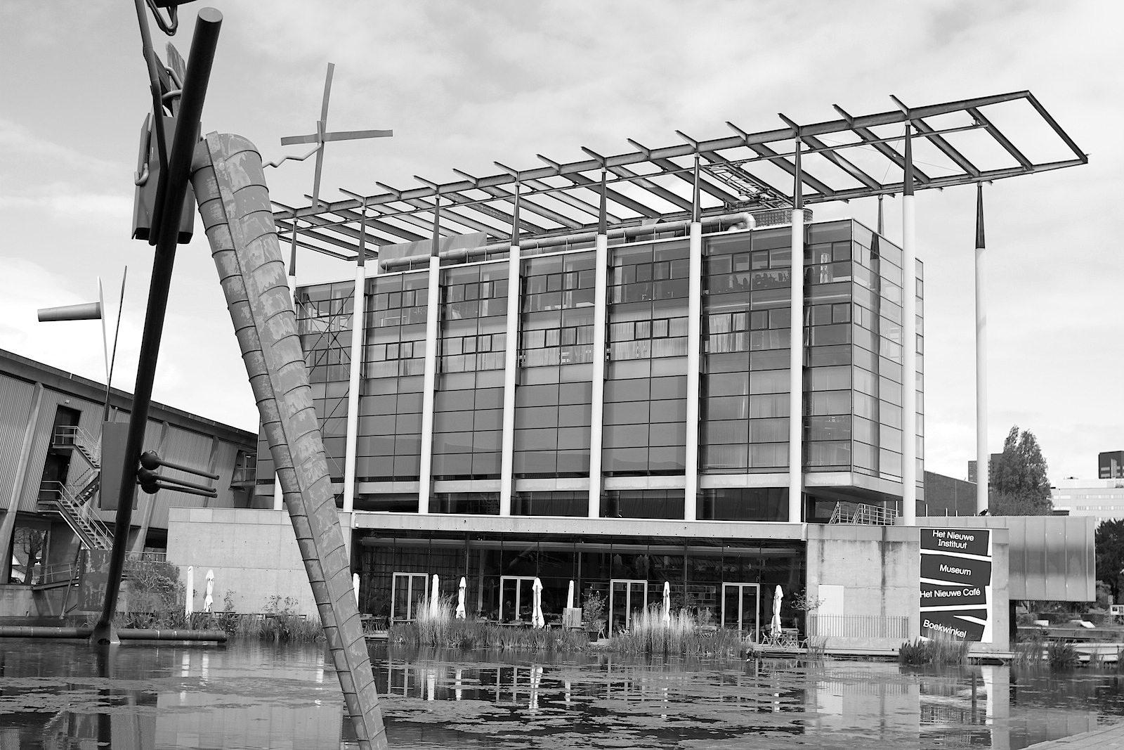 Het Nieuwe Instituut.  Das Nederlands Architectuurinstituut NAi ging 2013 in Het Nieuwe Instituut auf.