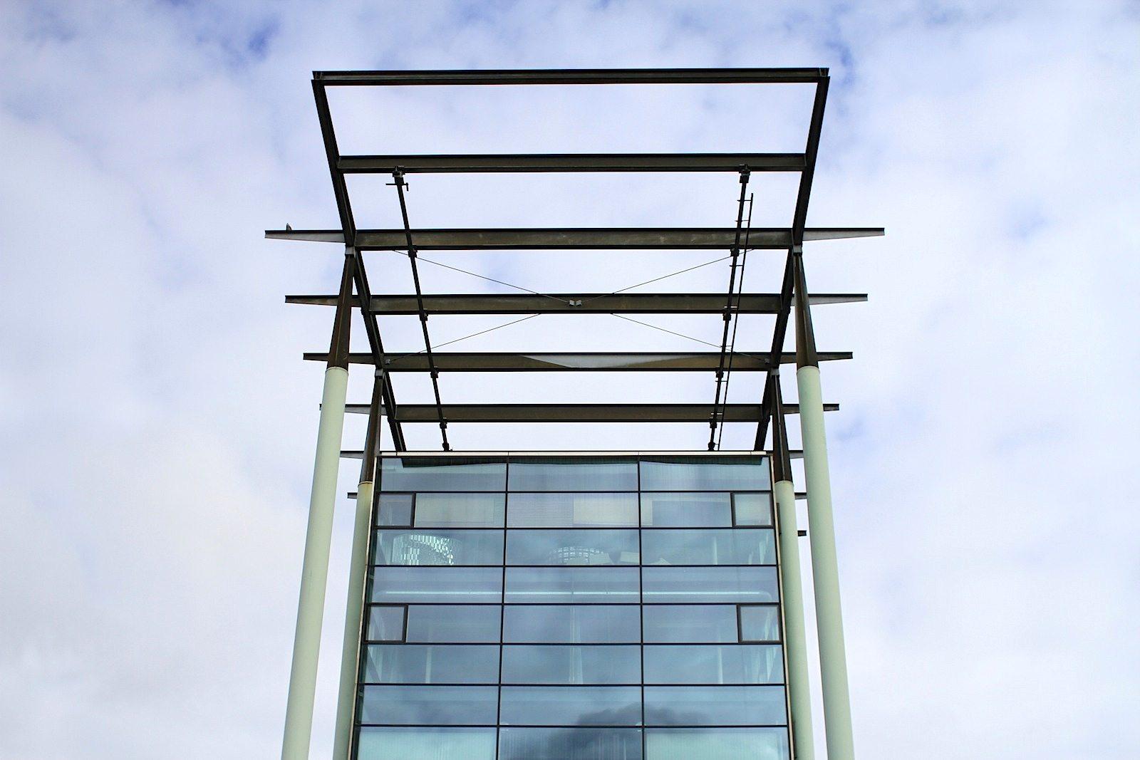 Het Nieuwe Instituut.  Erbaut nach den Plänen von Jo Coenen.