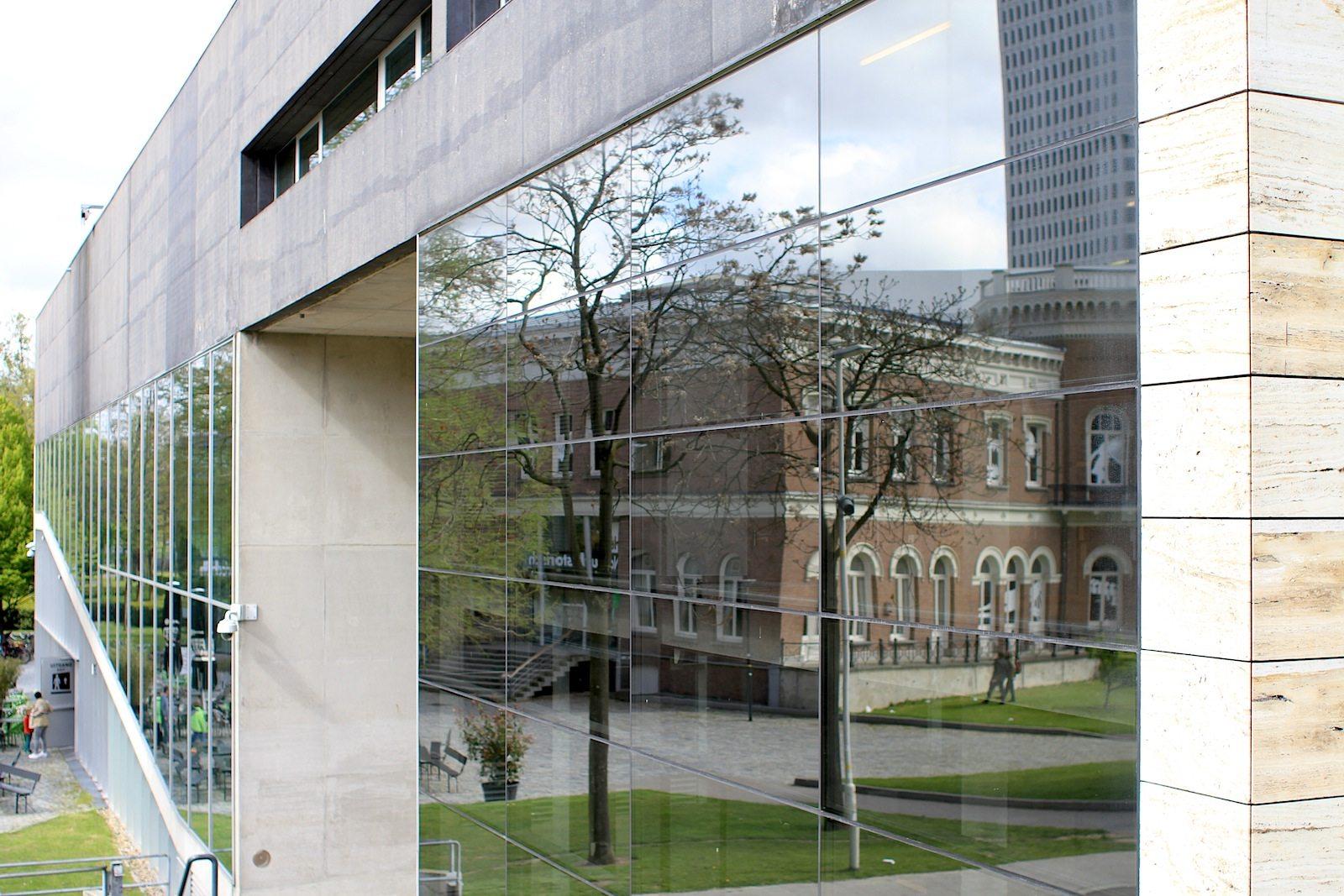"""Kunsthal Rotterdam.  """"... whilst retaining the original concept of an 'exhibition machine'."""" –Ellen van Loon, Architektin, OMA-Partnerin"""