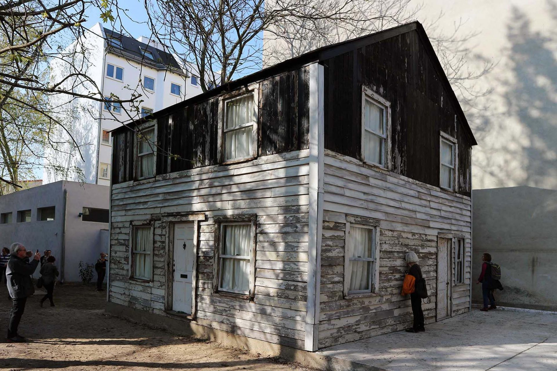 The Rosa Parks' House.