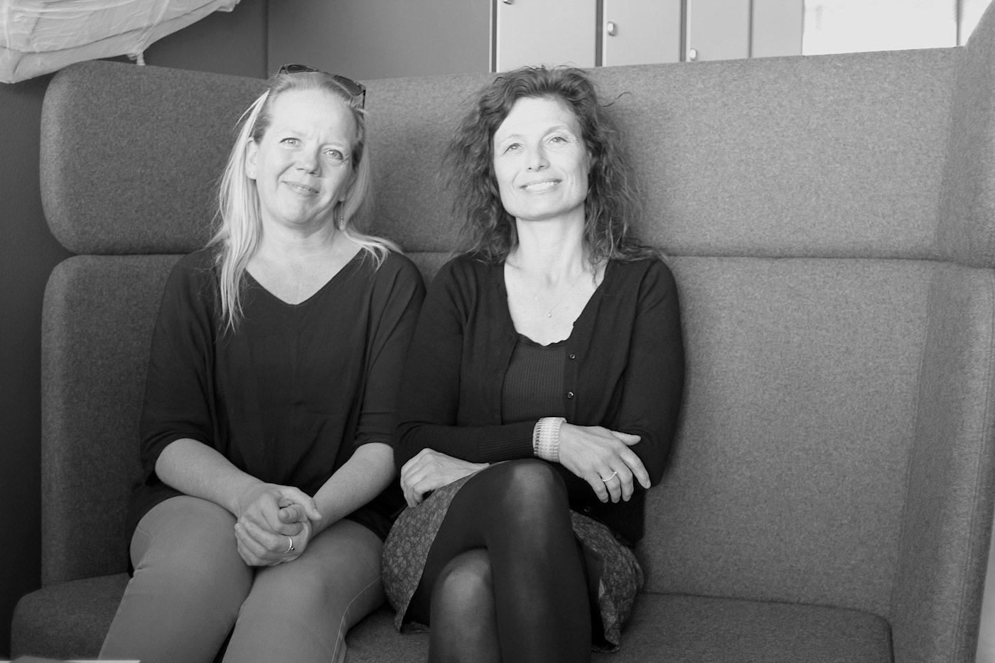 The Architecture Project. Mit CEO Carina Serritzlew (re.) und Signe Marie Davidsen, verantwortlich auch für das Festival Rising Architecture, vom 11. bis 15. September 2017 in Godsbanen, Aarhus.