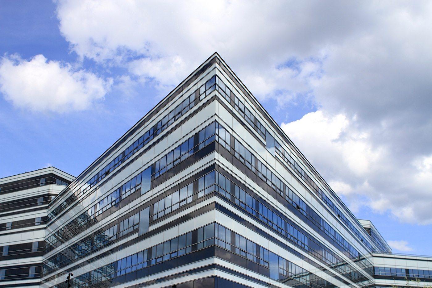 Navitas.  Das Lehr- und Forschungszentrum. Entworfen von Kjær & Richter in Kooperation mit Christensen & Co., Fertigstellung 2014.