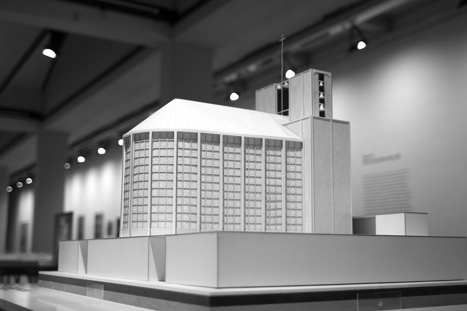 Otto Bartning, Stahlkirche, 1928.  Modell, 2016/2017, Studierende der TU Darmstadt