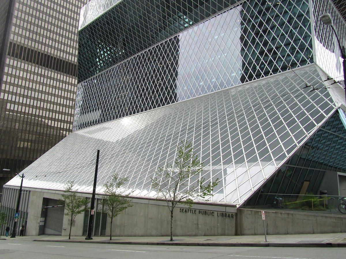 Seattle Central Library. ist die städtische Bibliothek der größten Metropole im Nordwesten der USA im Bundesstaat Washington.