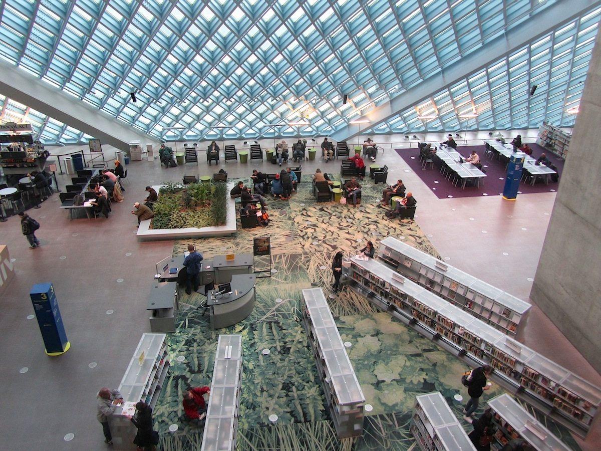 Seattle Central Library. Eröffnung: 2004. Kosten: Knapp 166 Millionen US-Dollar.