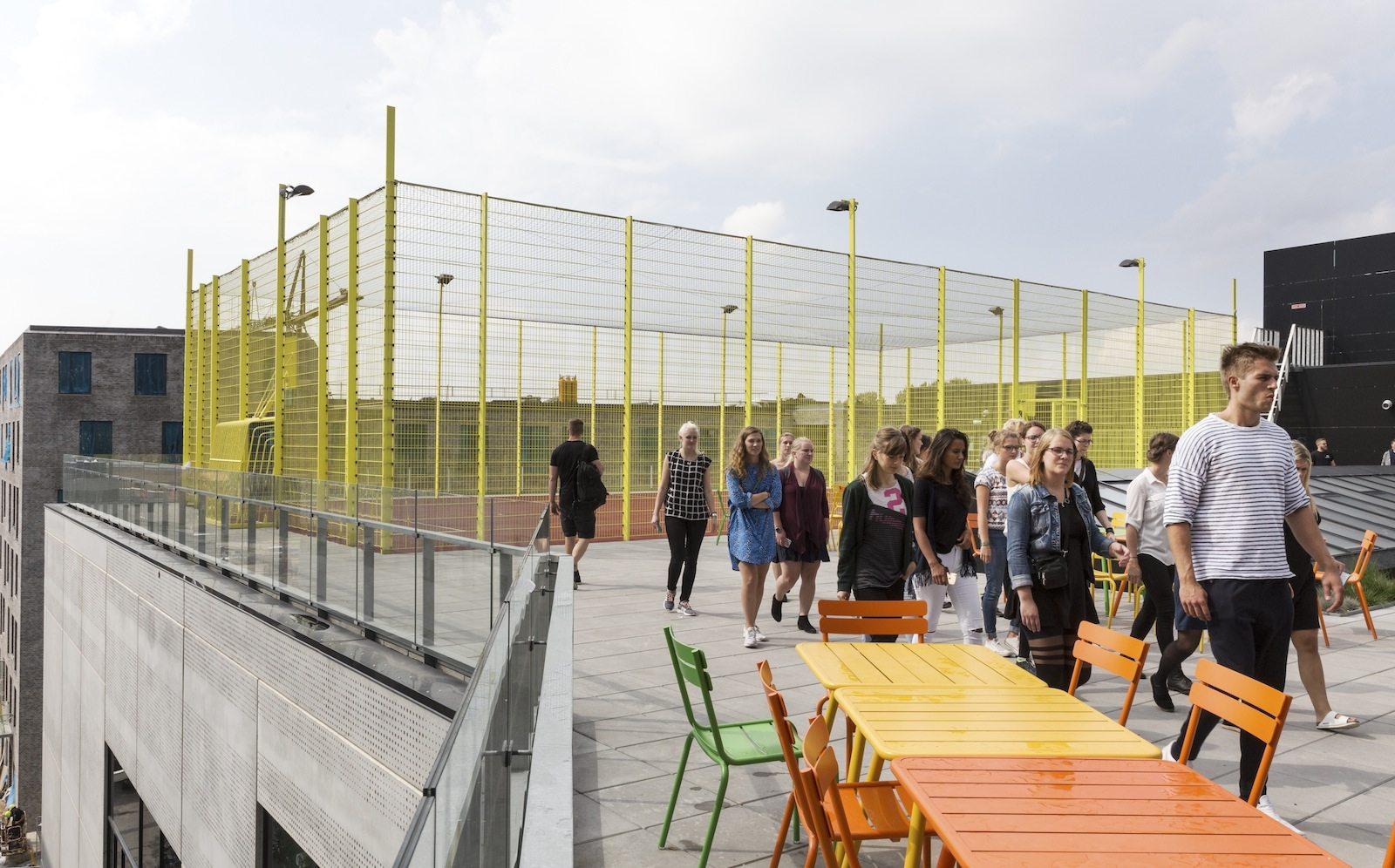 VIA University College Aarhus. Das aus Aarhus stammende Architekturbüro Arkitema entwarf einen Campus mit ...