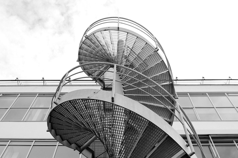 Himmel.  Areal, Architektur und Ästhetik wirken zeitlos und gleichzeitig an die heutigen Anforderungen angepasst.