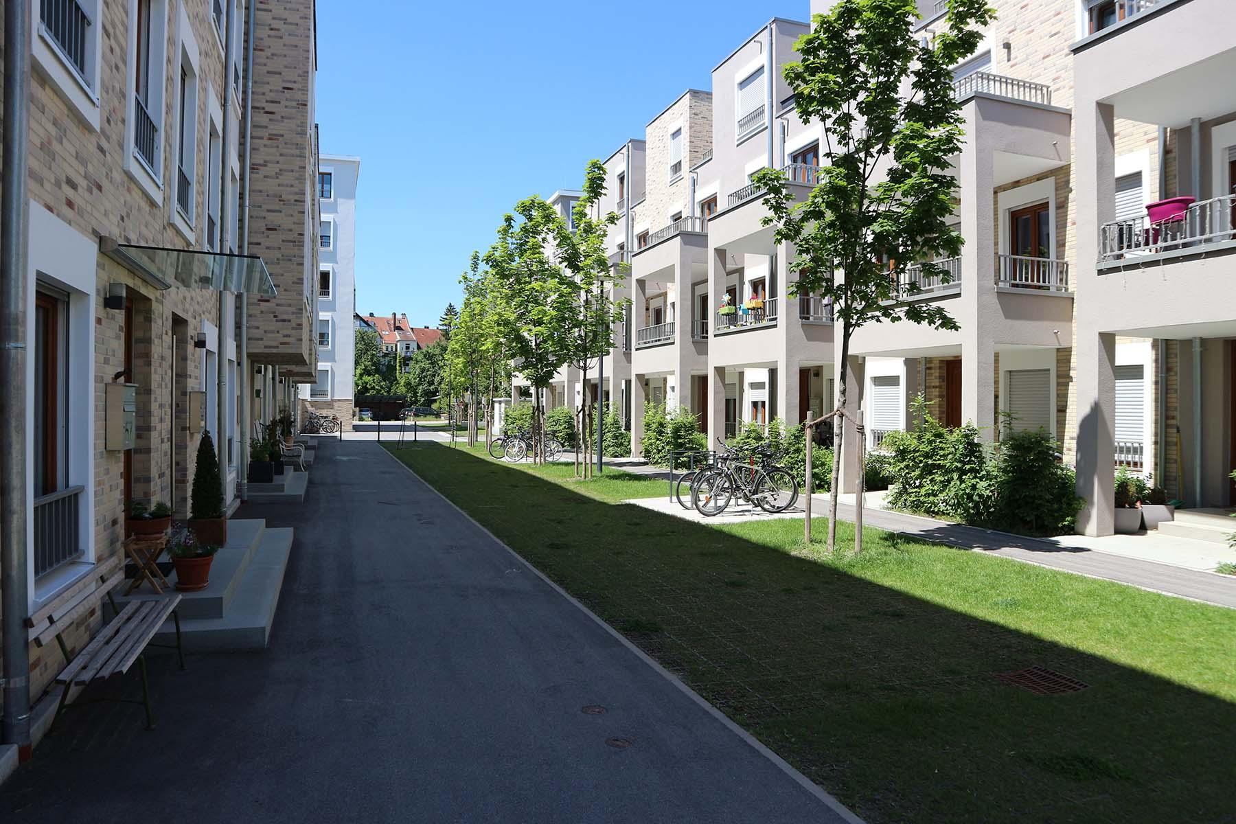 Marina Quartier.  Durchgrünt