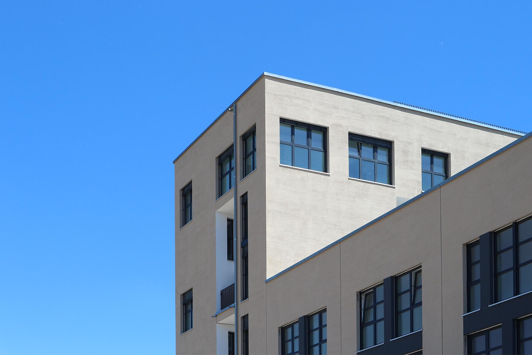 Marina Quartier.  Industriecharme