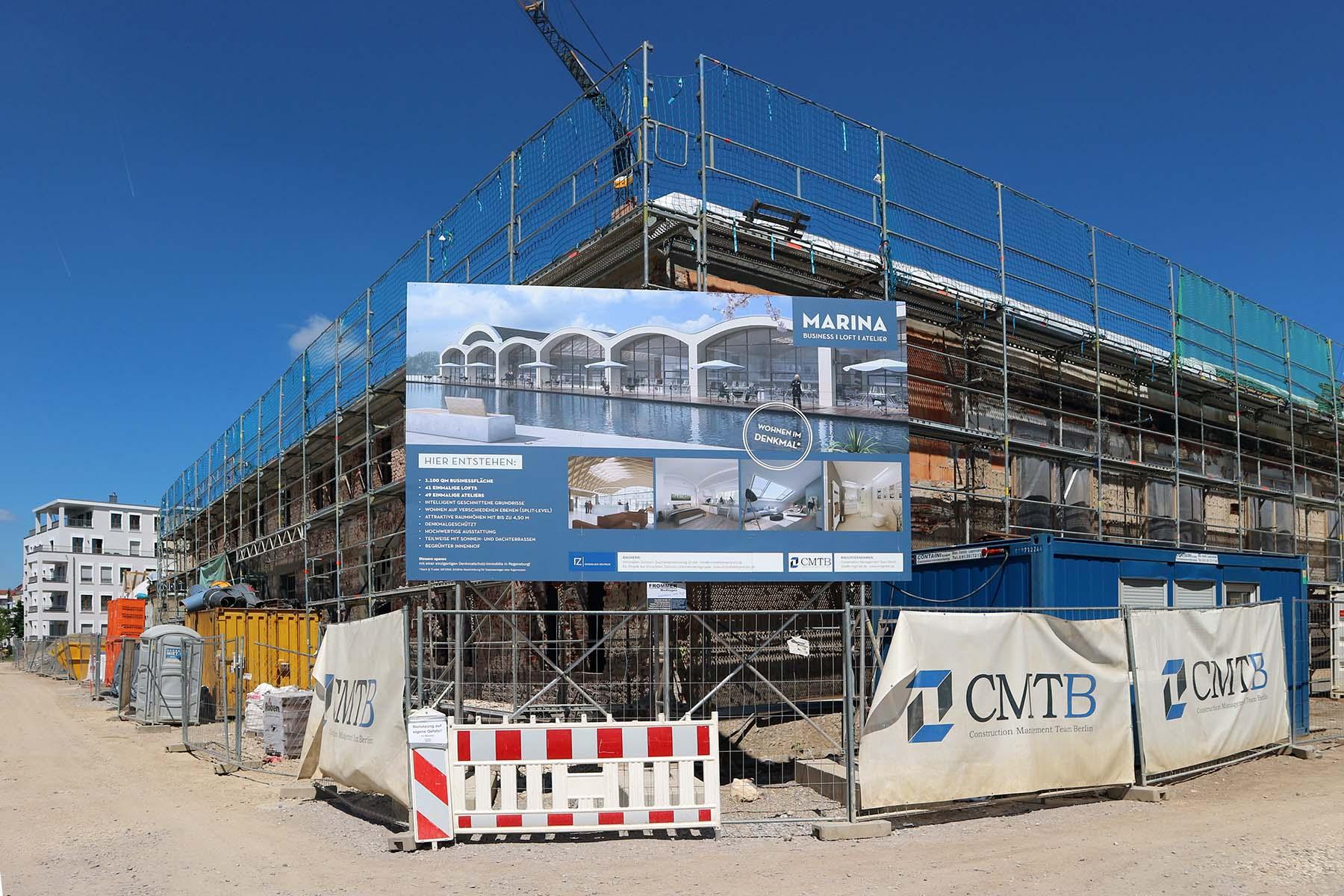 Marinaforum. Noch befindet sich das Tagungs- und Kongresszentrum im Bau. Im Frühjahr 2018 soll es eröffnen.