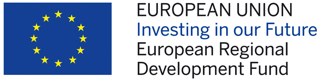 Logo: EUROPEAN UNION European Regional Development Fund