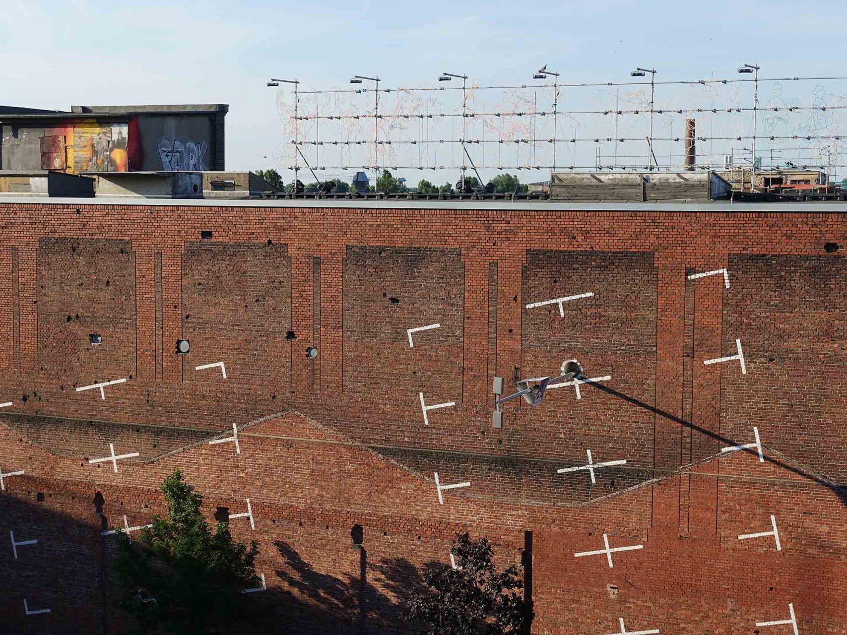 "KunstWerk Cologne.  Installation ""Anwohnerpark"" by osa for the client Plan 6 and Kunstwerk Cologne."
