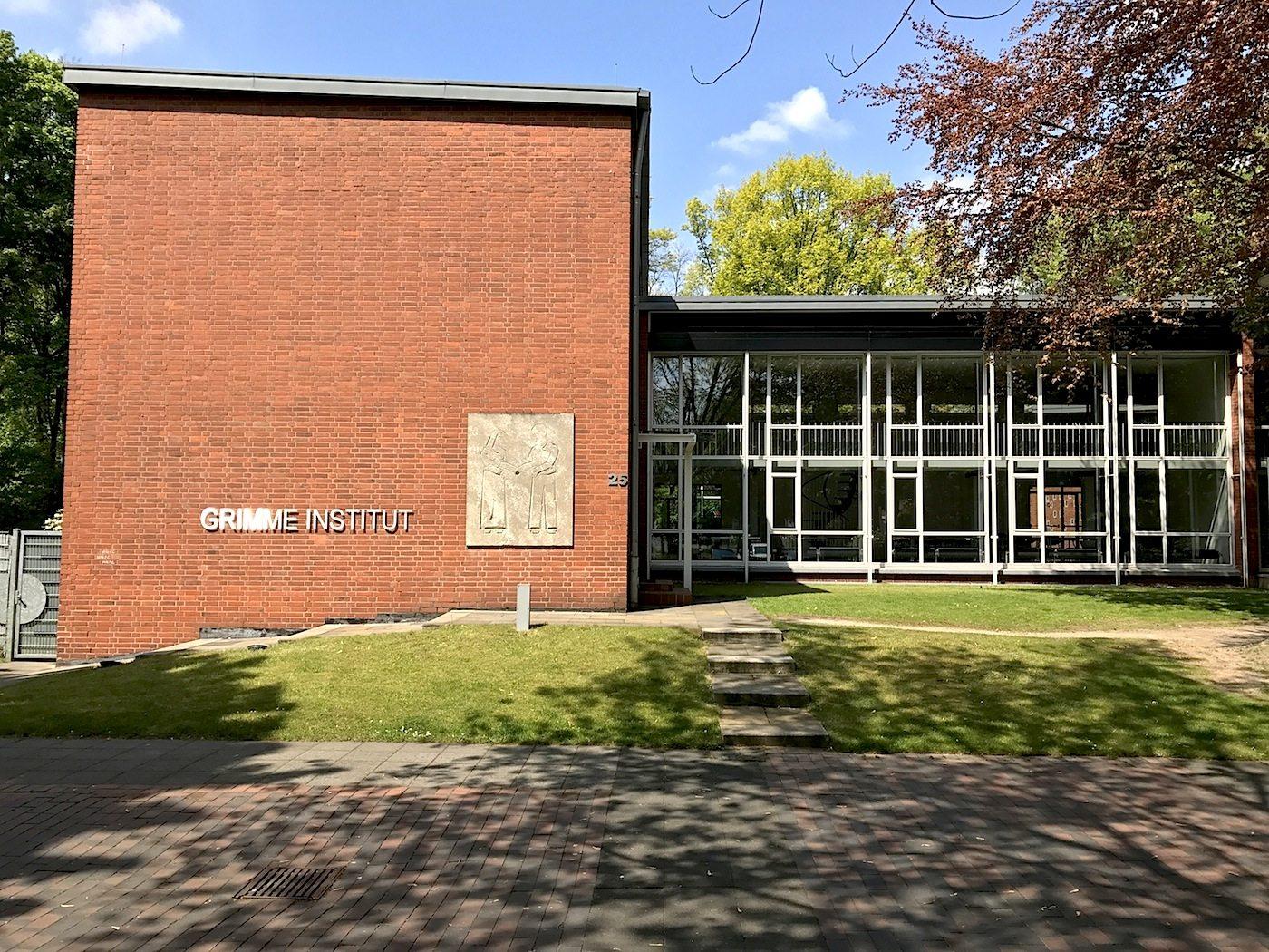Grimme-Institut. ... gleichzeitig die modernste Volkshochschule der Bundesrepublik Deutschland.