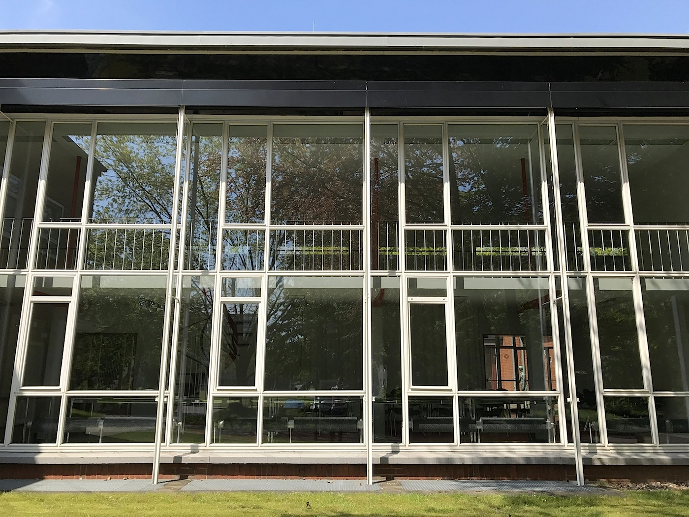 Grimme Institute. Transparency, levity, and the successful mixture of glass, steel, and brick characterise the construction, which was renovated in 2005.