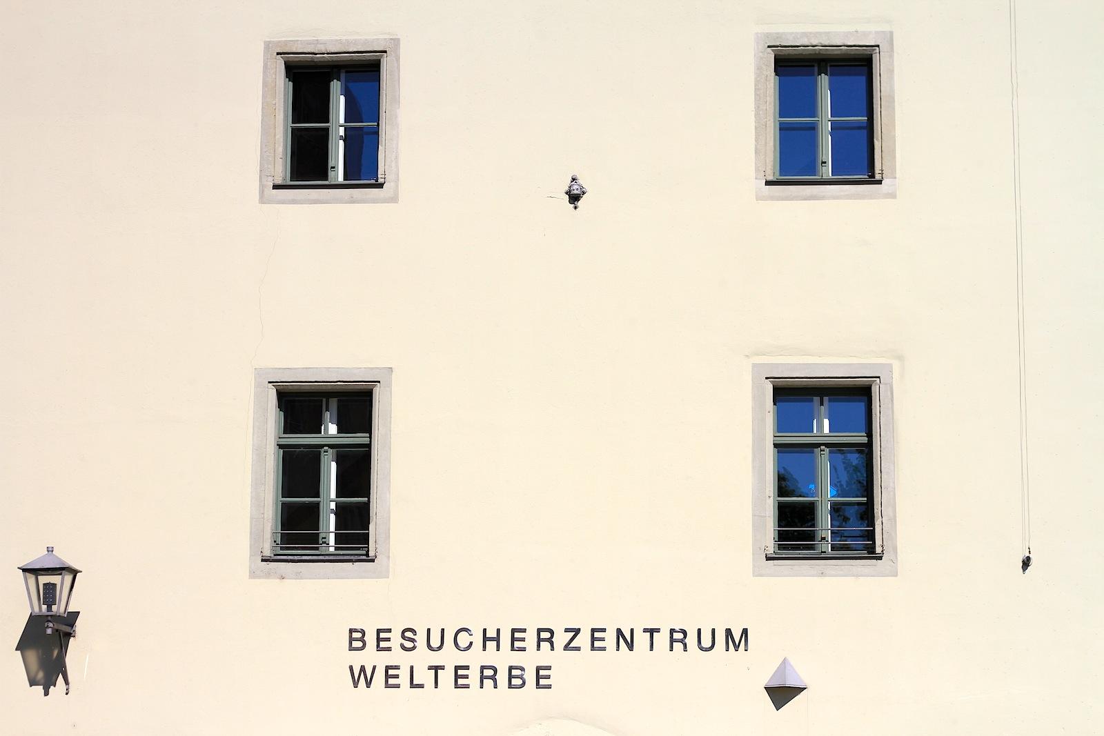 Welterbe. Besucherzentrum mit interaktiven Spielstationen, Medieninstallationen und Exponaten zu Regensburg und seiner Geschichte. Ausstellungsarchitektur und Konzeption u. a. von a-u-r-a-architekten aus Ulm
