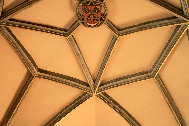 Gewölbe.  Im Alten Rathaus