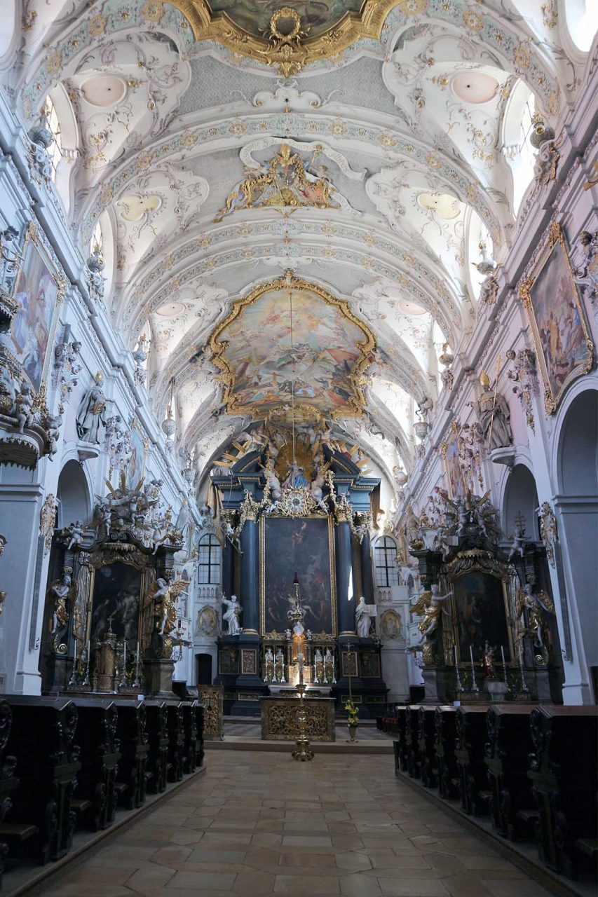 Pracht. Benediktinerkloster St. Emmeram