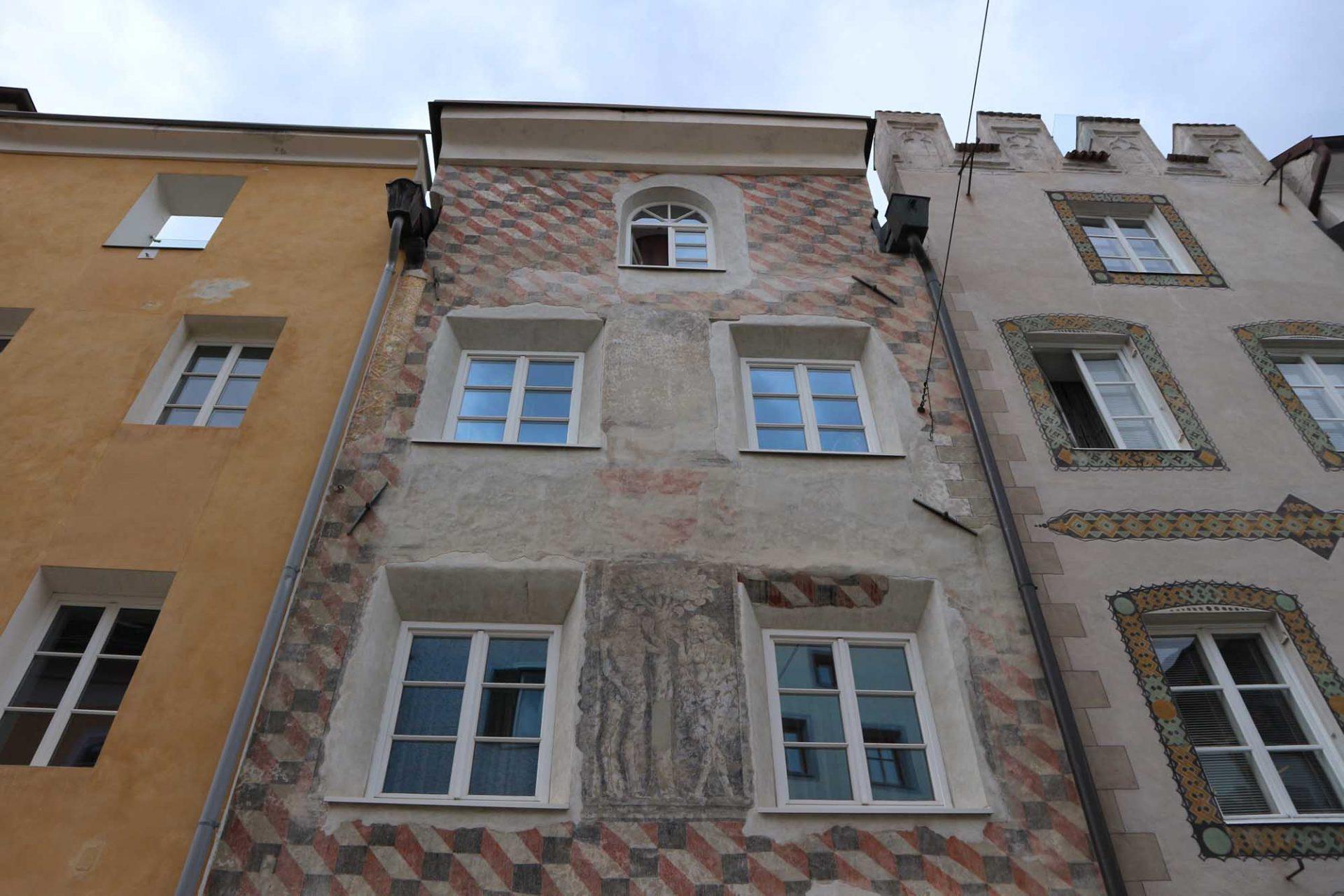 Bruneck.  Die Via Centrale ...