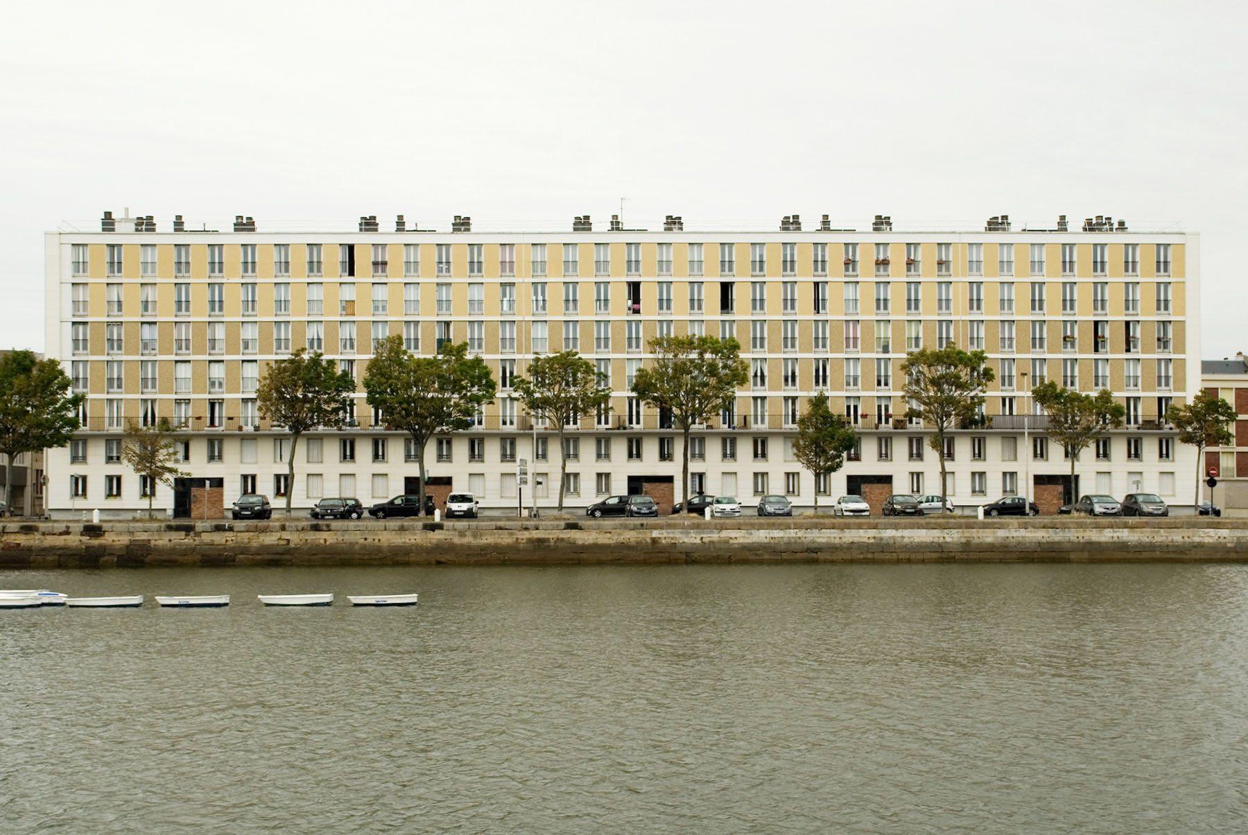 Die Wohninseln. Der Geschossaufbau sollte immer aus Erdgeschoss, Zwischengeschoss und Noble Etage bestehen.