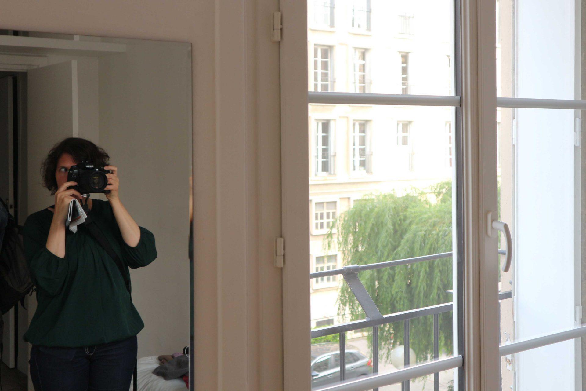 Die Wohnungen. Fotokünstlerin und regelmäßige THE LINK-Mitwirkende Bettina Cohnen