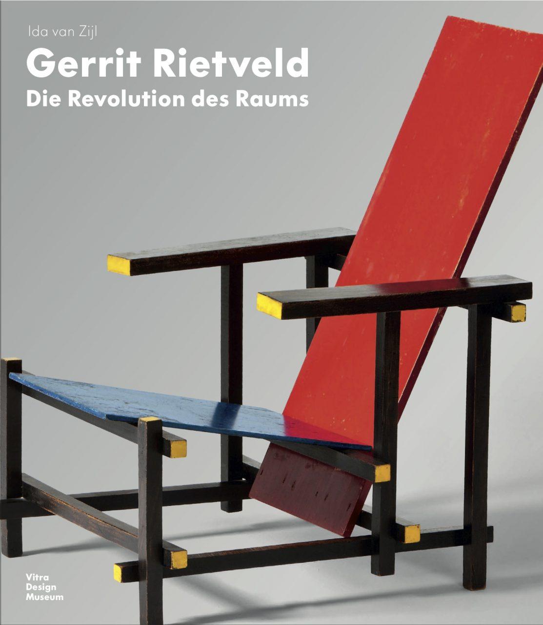 Gerrit Rietveld – Die Revolution des Raums.  Rot-Blauer Stuhl, Entwurf Gerrit Rietveld, 1918.