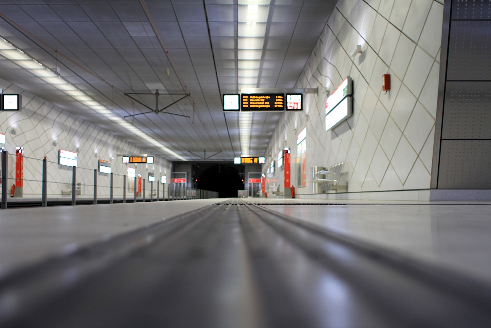 Station Benrather Straße.