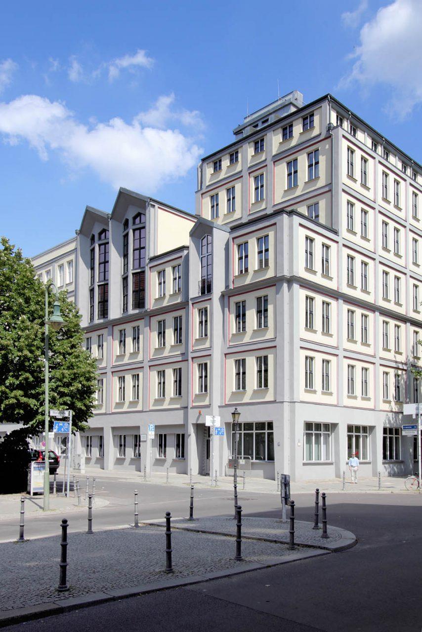 ADGB Haus Hermann-Schlimme-Haus.  1922-1923, von Franz Hoffmann und Max Taut